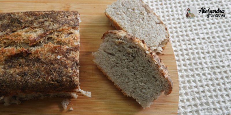 pan de molde sin gluten y sin lácteos