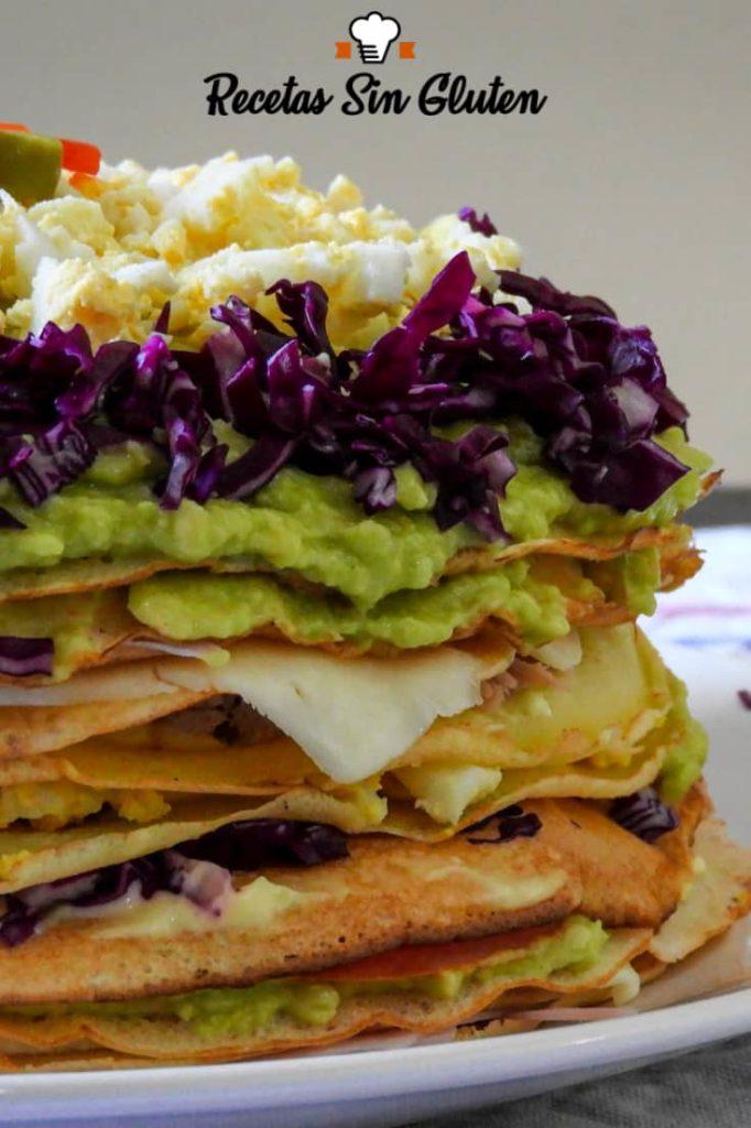 Aprende cómo hacer torre de panqueques sin TACC. En menos de media hora podrás disfrutar de este plato sin gluten y fresco para el verano.