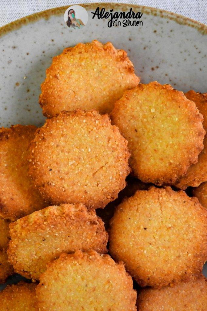 Galletas de polenta sin TACC
