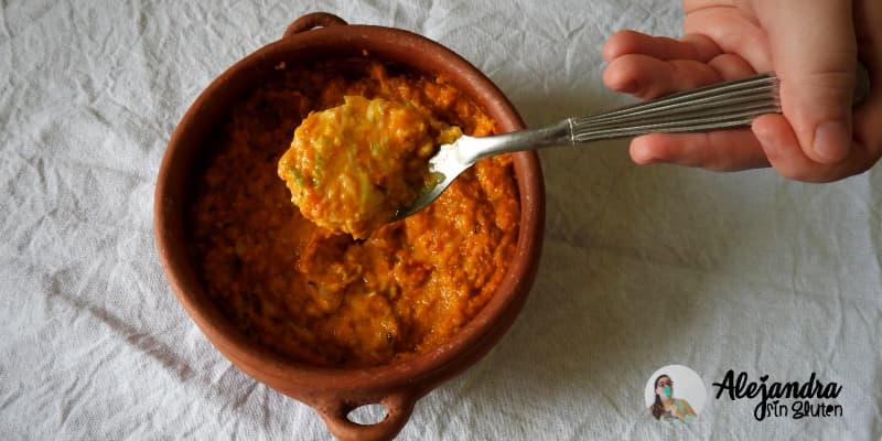 % Receta de Humita en olla sin TACC: cómo hacer humita al plato sin gluten