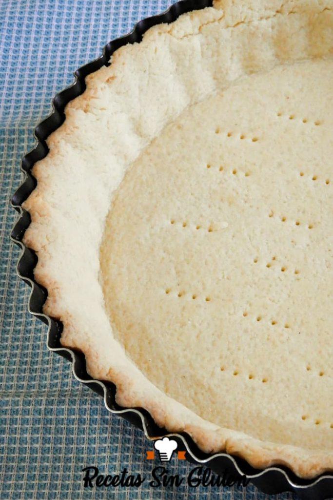 masa de tarta dulce sin TACC para Pinterest