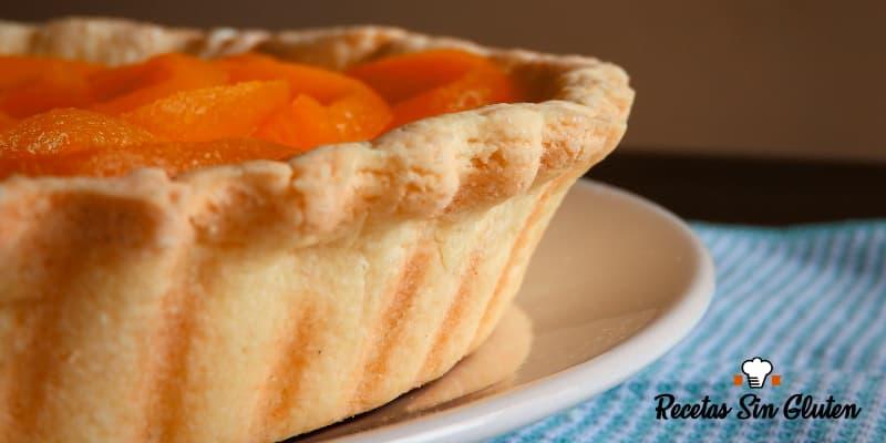 masa de tarta dulce sin TACC