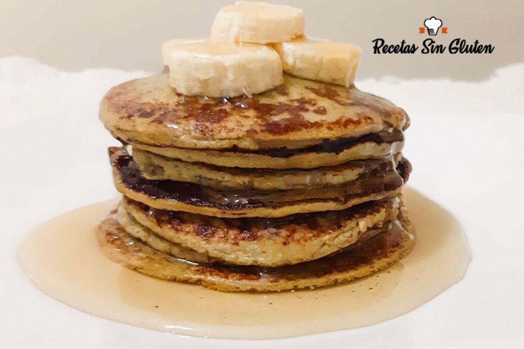 Cómo hacer pancakes sin harina