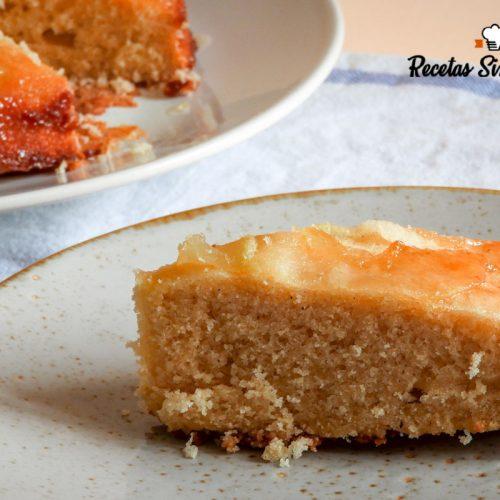 tarta de manzana para celíacos